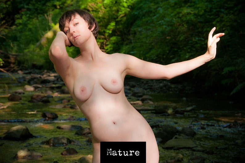 Female outdoor artistic nude - color or black and white - The Lady of the  Creek ... Female outdoor artistic nude - color or black and white - The  Lady of ...