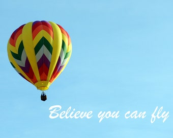 ACEO Believe You Can Fly