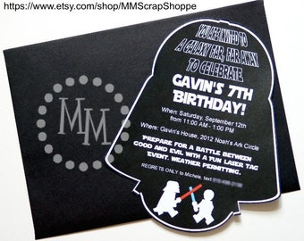 Star Wars Custom PRINTABLE Birthday Invitation
