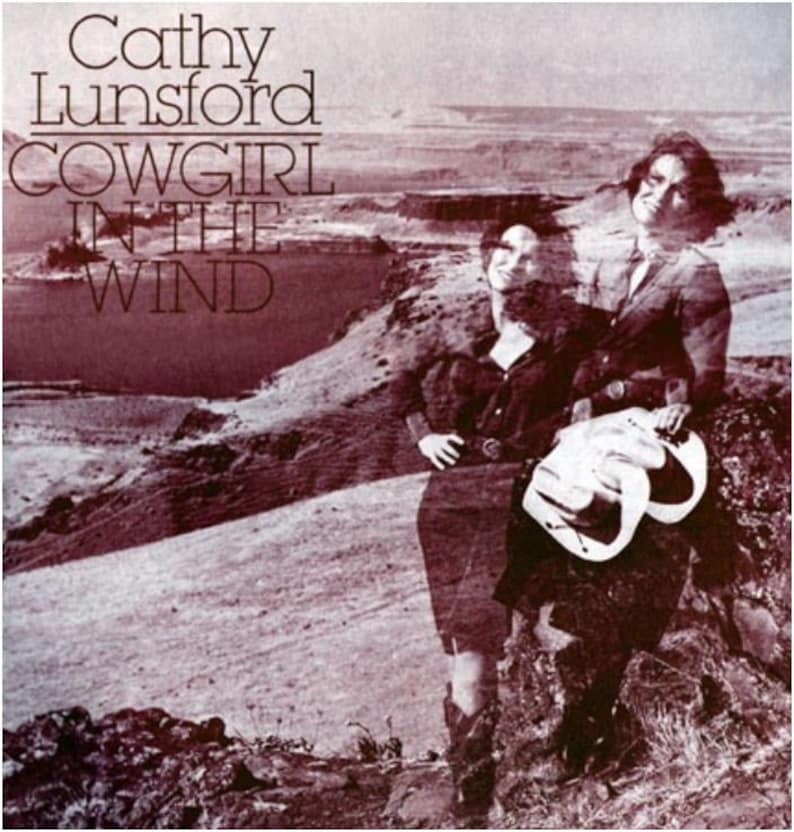 Cathy Lunsford Cowgirl in the Wind CD of 1981 Recording image 0