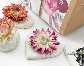 Seed Bomb Gift Box, Friend Gift, Personalized Tag, Wildflowers Gift Under 40 eco Mom Gift, Birthday Gift, Gardening, Quarantine Birthday