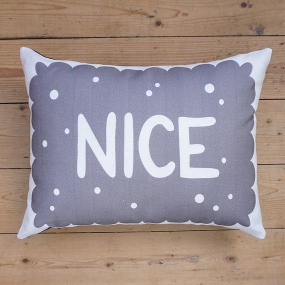 7e113c419c81 Monochrome Nice Biscuit Cushion