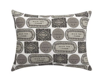 Biscuit Mix Printed Cushion - Cool Monotone / Biscuit Cushion - Cookie Pillow