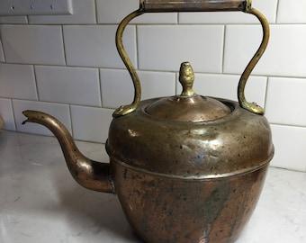 Vintage/Antique Copper Kettle