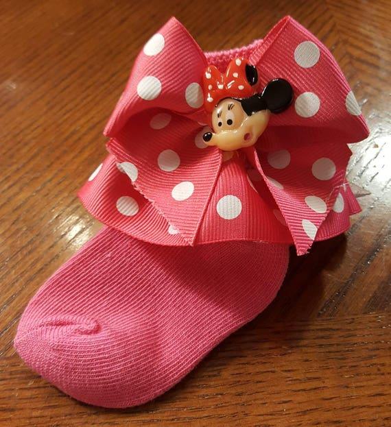 Boutique Custom Made OOAK Fancy Feet Socks Lace and Ribbon Ruffle Socks-Choice of Color-