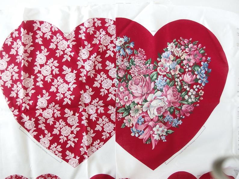 Heart Pillow Panel From Cranston Vip