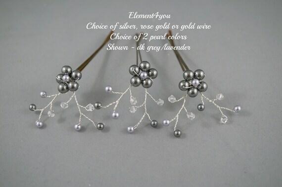Fiore Cristallo Diamante Avorio Perla Fascia Per Capelli laterali Nuziale Damigella D/'onore