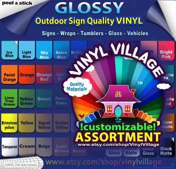 3 Roll 24x10ft Adhesive Vinyl Computer Cut Graphics professional outdoor signs