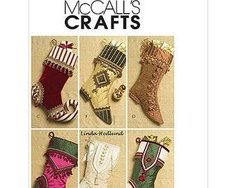 sew make mccalls m5549 sewing pattern embellished 18 fancy designer christmas stockings