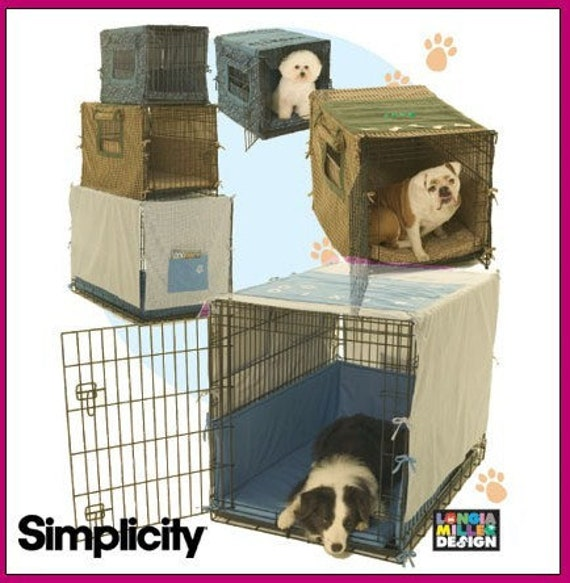 Sew & Make Simplicity 4713 Sewing Pattern Dog Crate Covers