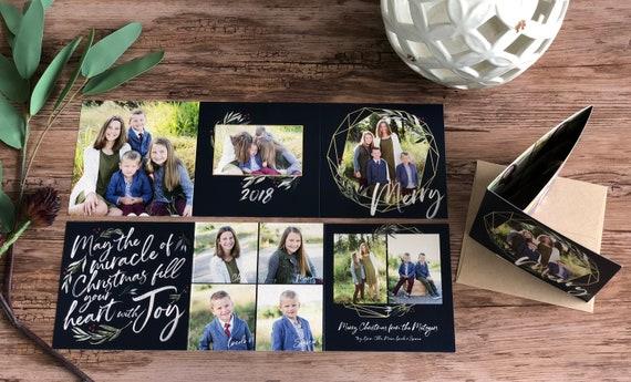 image 0 - Tri Fold Christmas Cards