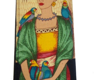 Latino  Artist Frida  US Handmade Handbag Purse Wallet