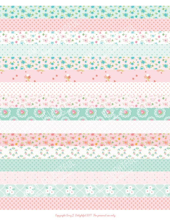 photo regarding Printable Washi Tape referred to as Printable WASHI TAPE stickers!-Electronic Record Immediate Obtain- polka dots, florals, bible journaling, Delighted Planner, Do-it-yourself, pastel, purple