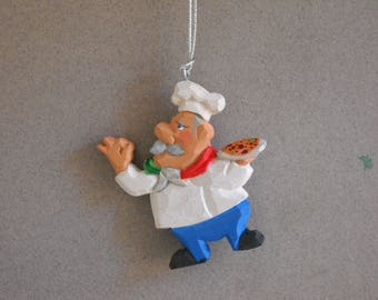 Chef Christmas ornament