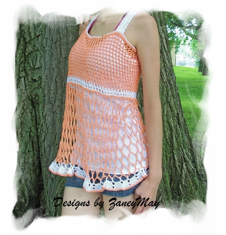 Crochet Baby Doll Top Pattern In Pdf Etsy