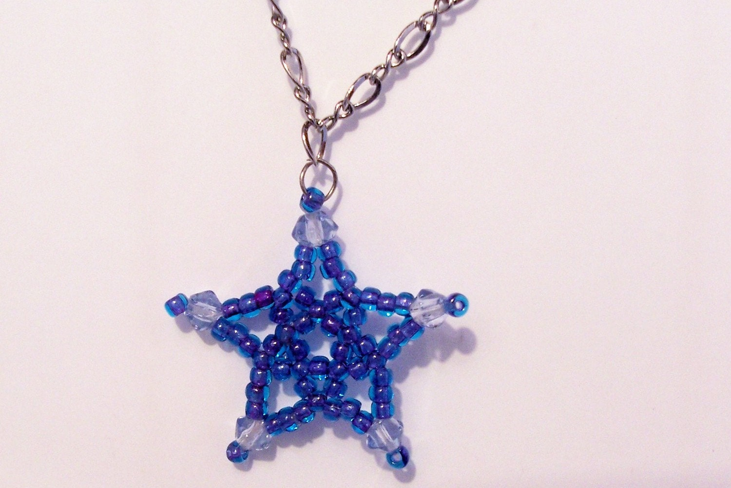 Five Point Star Pattern Beading Tutorial In Pdf Etsy