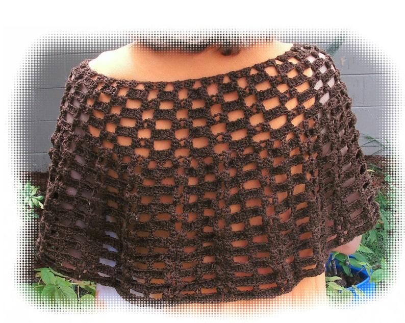 Dainty Shell Shawl crochet pattern in PDF