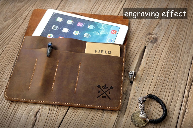 Vintage distressed Leather surface pro sleeve case for Microsoft surface pro 4 5 6 SPX05S