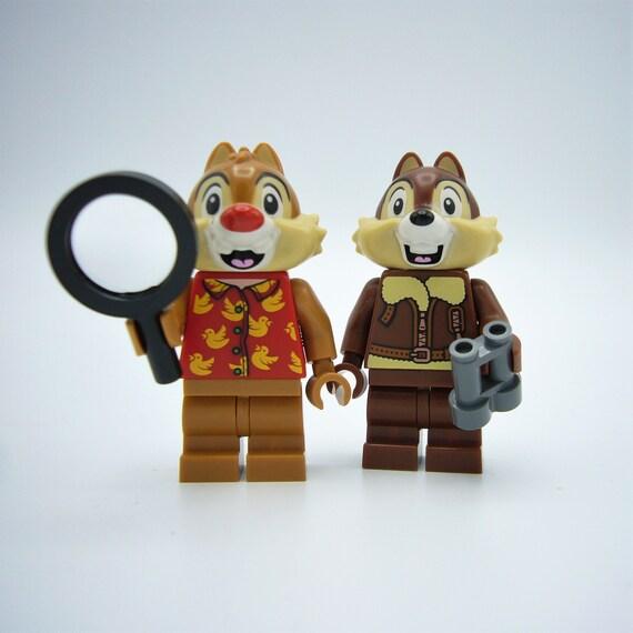 Chip N Dale Custom Building bricks set-Chipmunk Rescue Rangers-Disney
