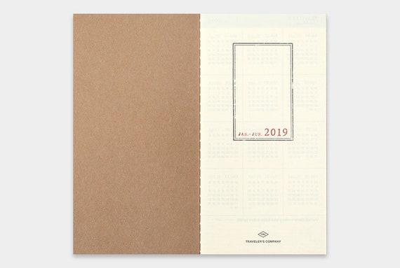 2019 - 2019 AMT voyageur carnet 2019 - hebdomadaire & mémo Insert régulier 4e9bd6