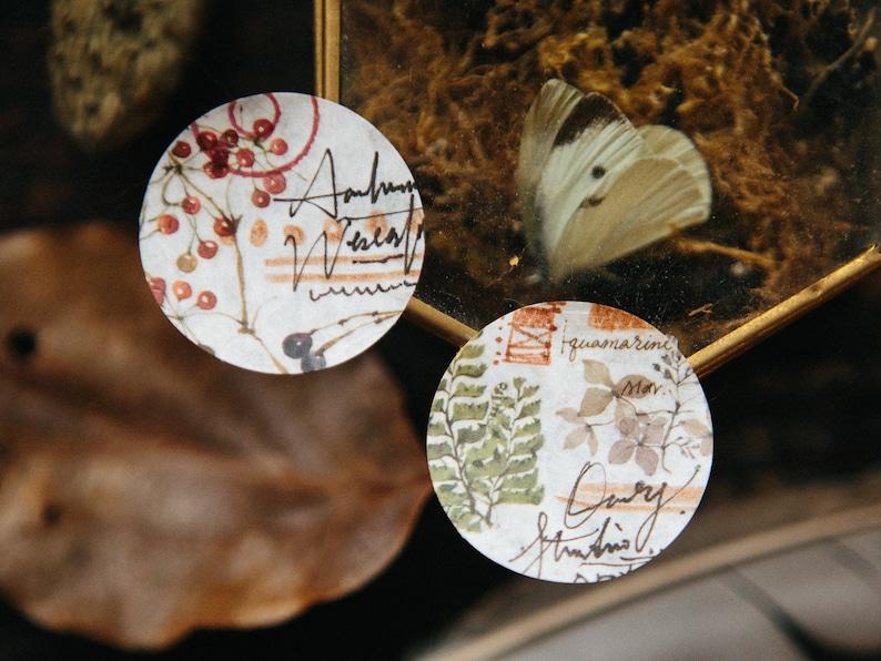 OURS Transfer Sticker Set 2 pieces Wild Plants