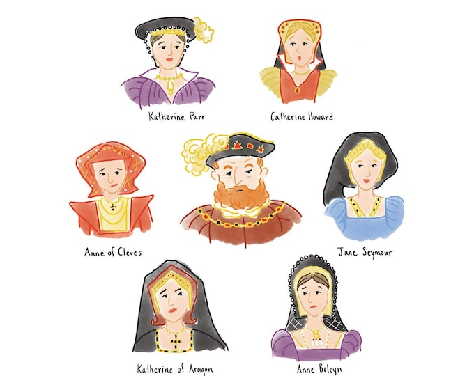 Henry VIII and his Six Wives - Digital Download