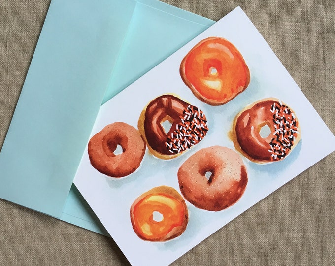 Delicious Donuts Card