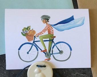 Super Cyclist Card