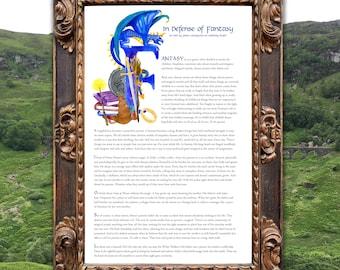 In Defense of Fantasy: from Binge Mode Raven's Scroll