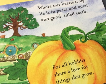 The Shire – Harvest at Baggend Card