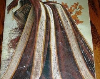vintage knit crochet patterns ... Beehive AFGHANS to KNIT CROCHET Patons Patterns leaflet pattern ...