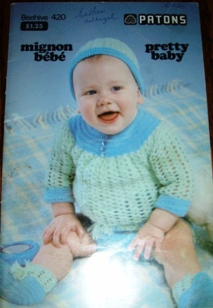 40178c2c5de9 clearance prices 9f971 1947f patons book 6000 quick easy baby knits ...