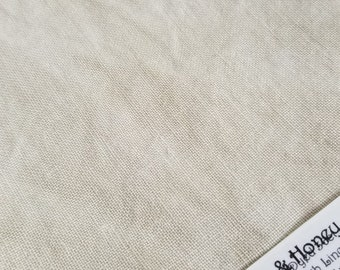 MILK and HONEY premium hand dyed cross stitch fabric 100% Linen ( 32 -36- 40) count Fat Eighth by Fiber on a Whim