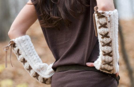 Toasty Arm Warmers Crochet Pattern Pdf Etsy