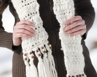 Loopy Scarf Crochet Pattern PDF