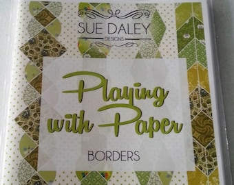 Sue Daley Playing with Paper Borders English Paper Piecing booklet