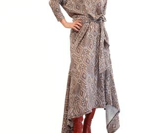 Vestido Vintage Sewing Pattern B40 1950s R963