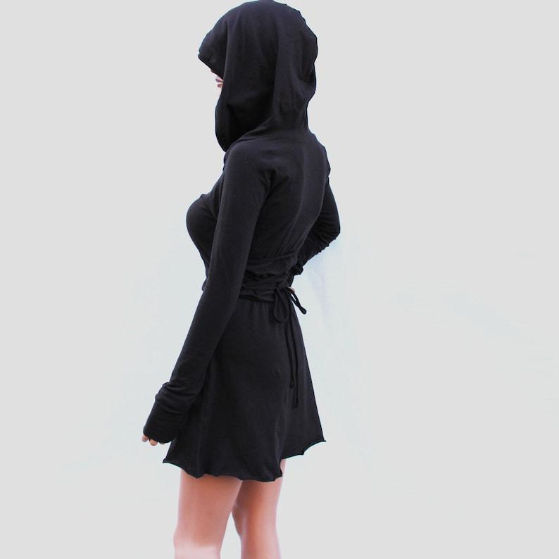 Dress   Hoodie Dress   Hooded Dress   Brown Hoodie Dress    c1a7f1924e