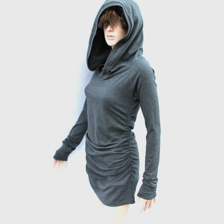 Tunic Dress/ Dress/ Plus size dress/ Party Mini Dress/ Hoodie Dress