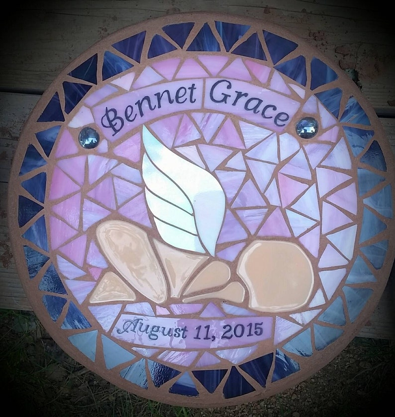 Angel Baby Memorial Stepping Stone image 0