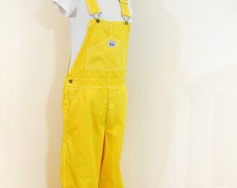 0fdbbca6c43 Yellow XL Cotton Bib OVERALL Pants - Golden Yellow Dyed NEW Rugged Blue  Painters Overalls - Adult Mens Womens Sz Extra Large (44 W x 30L)