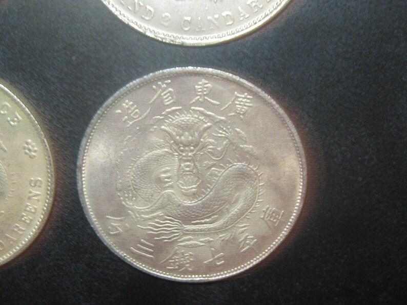 Wholesale Lot Of 6 Large Novelty Vintage Dragon Coins