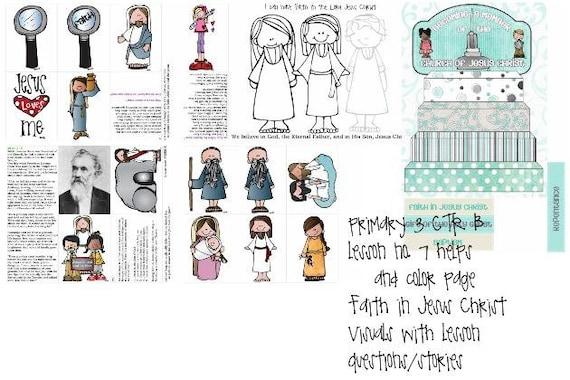 lección de CTR B de 3 del manual principal de la Sud 7 fe en | Etsy