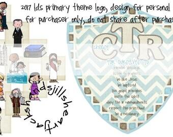 2017 CTR primary theme logo