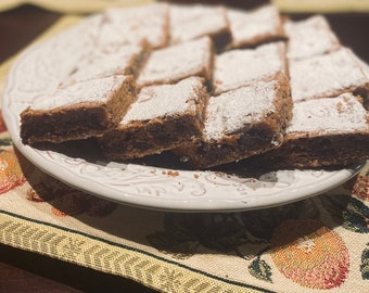 Turkish Coffee Cake Bars