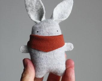 mini rabbit, bunny,cat, fox plush,custom,small stuffed animal plush, tiny plush, doll, miniature
