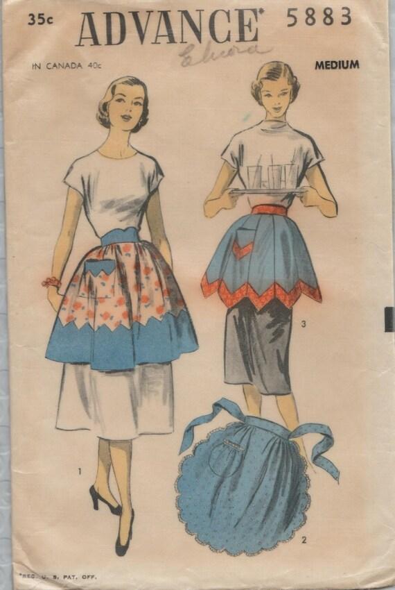Patron de couture avance 5883 / Vintage des années 50 / Tie ...