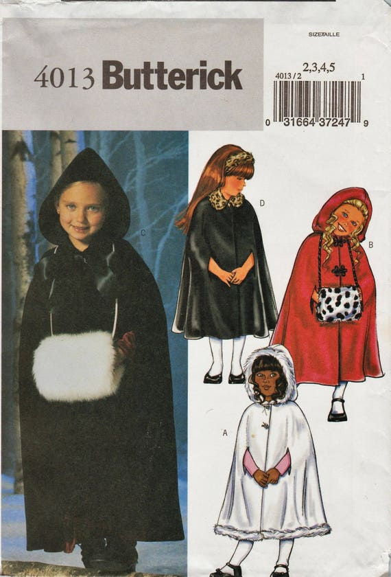 Out Of Print Sewing Pattern Butterick 4013 P152 Little Etsy