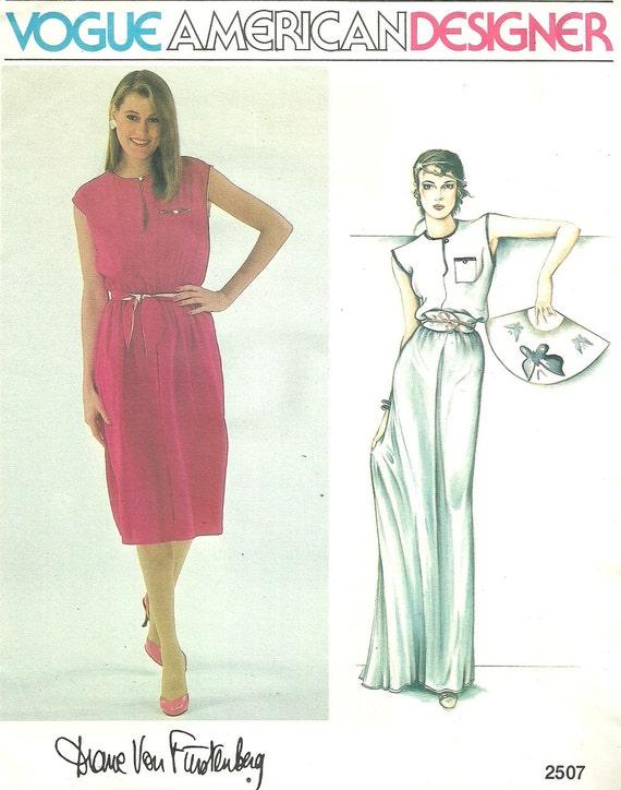 Vogue 2507 / Diane Von Furstenberg patrón de costura del | Etsy