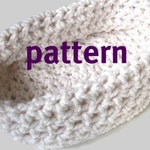Baby Bowl CROCHETING PATTERN, Newborn Chunky Photo Prop, Sell What You Make, Instant Download
